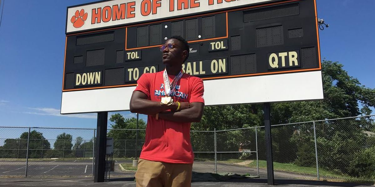 Withrow track star is school's first ever national champion
