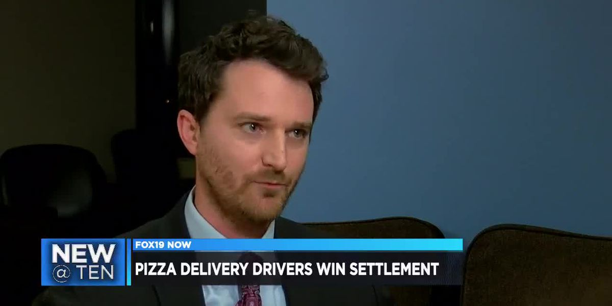 Pizza delivery drivers win settlement