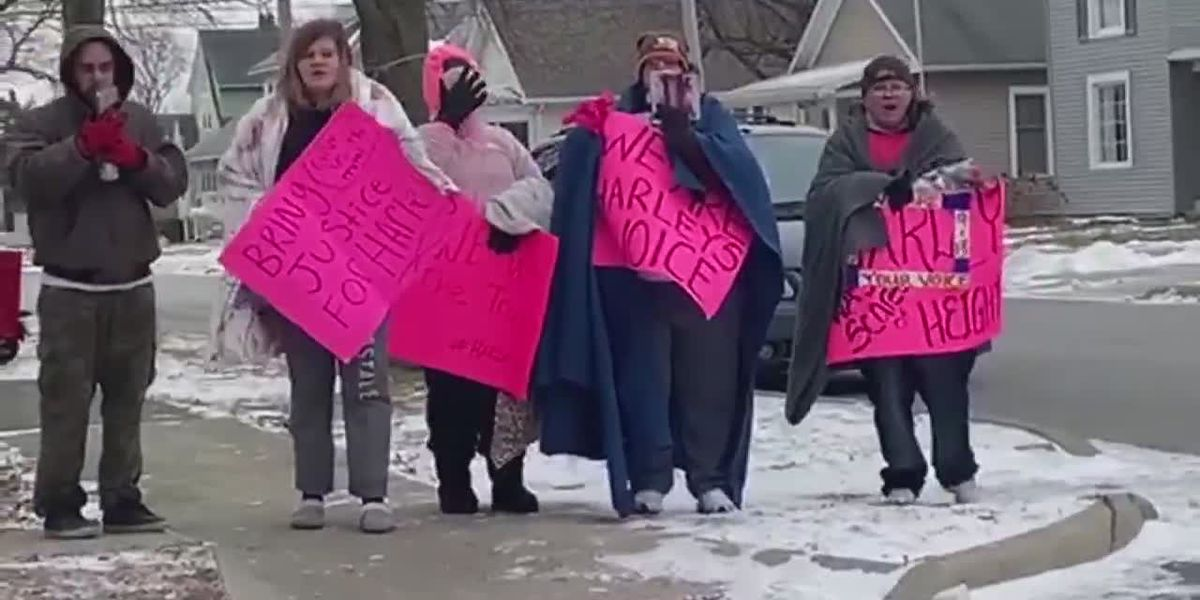 Protests held in Port Clinton claiming police cover-up in death of Harley Dilly