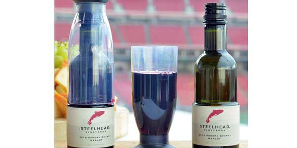 Wine offered at Great American Ball Park