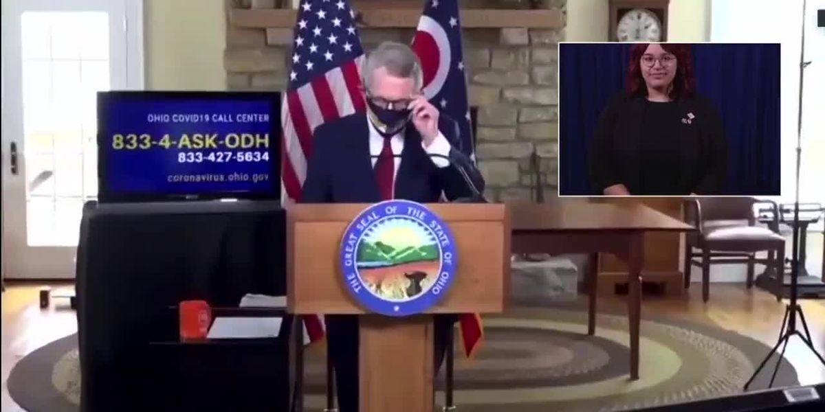 WATCH LIVE: Gov. Mike DeWine to give COVID-19 update