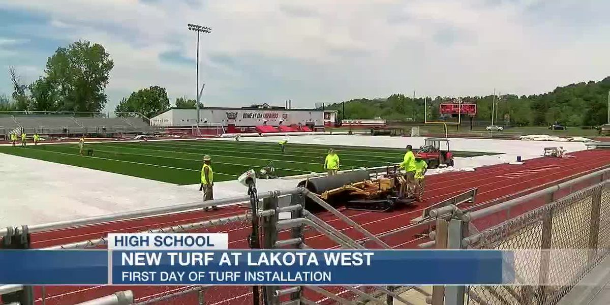 New turf at Lakota West