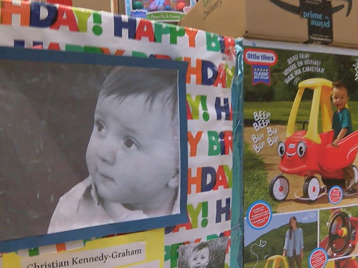 Mother honors late son by donating nearly $18K worth of toys for local cancer patients