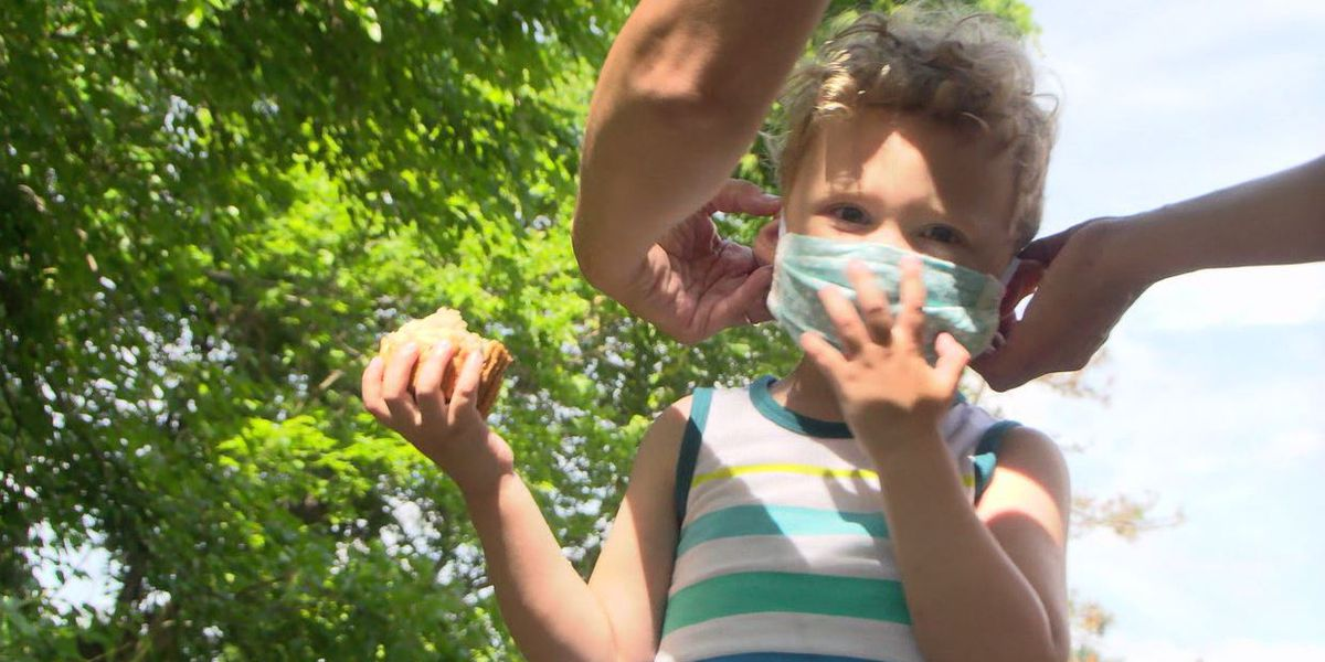 Parents, doctor weigh in on sending children to school with face masks