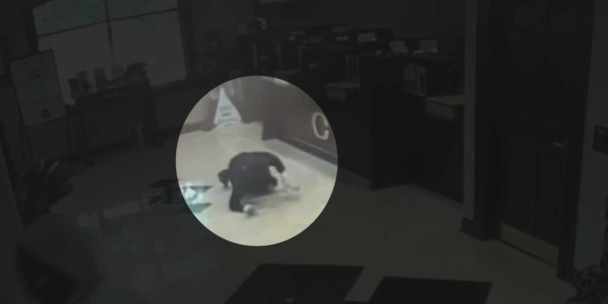A dose of instant karma? Video shows face plant during Ft. Mitchell bank robbery attempt