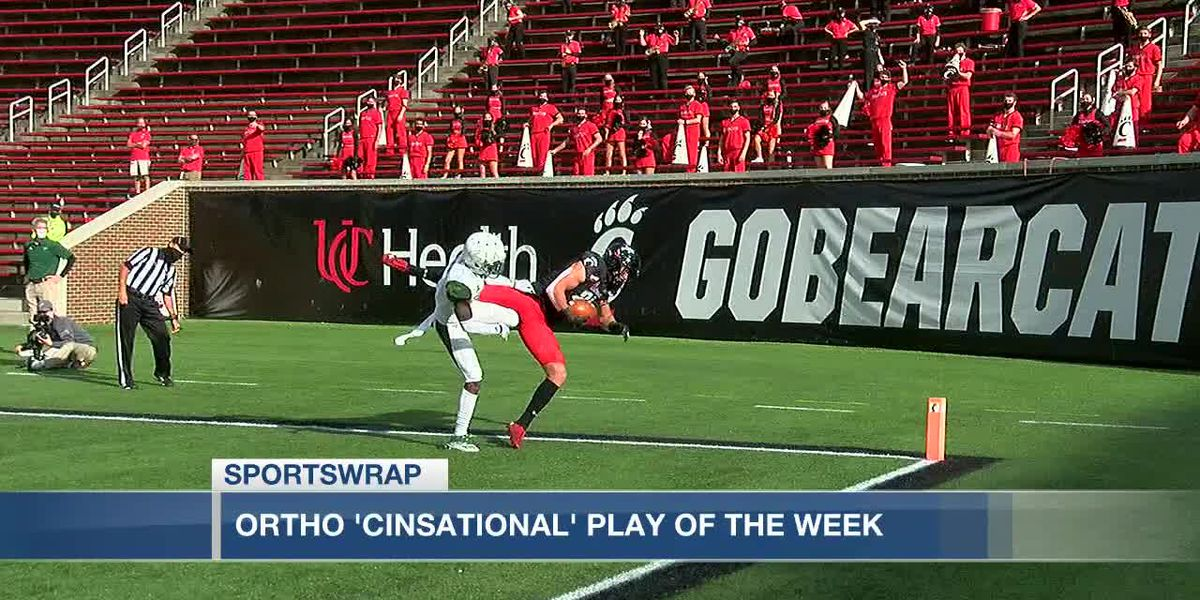 UC's Josh Whyle is the Ortho Cinsational play of the week