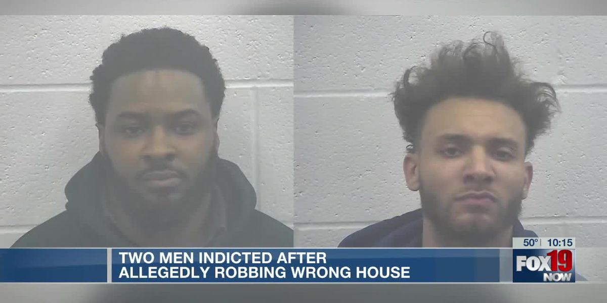 2 men indicted after allegedly robbing wrong house