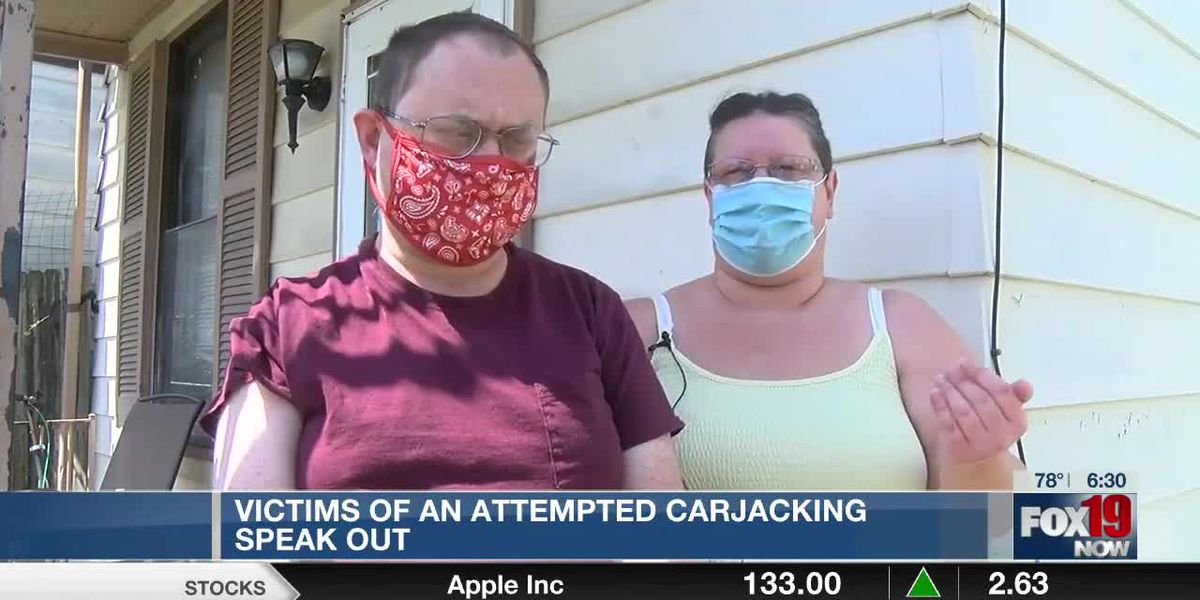 Victims of attempted carjacking in Newport speak out