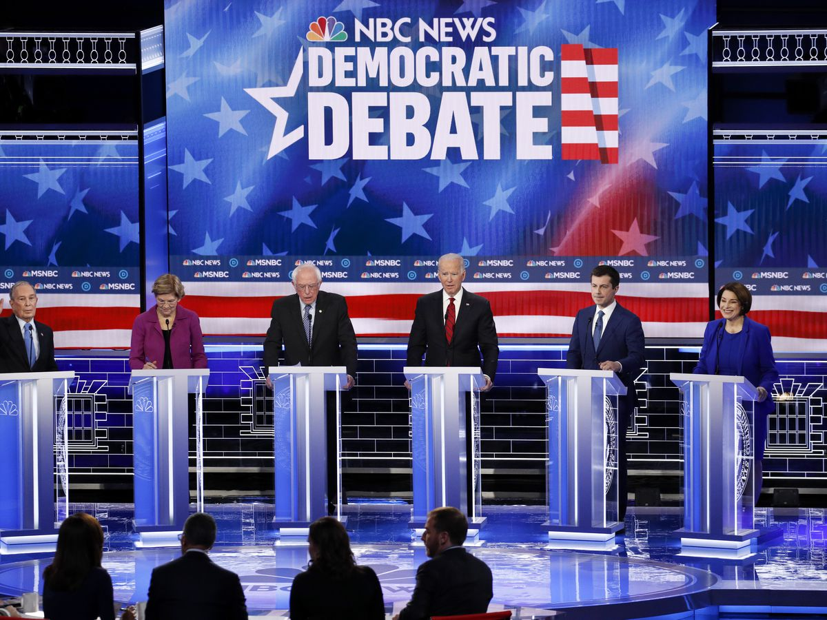 Bloomberg, Sanders attacked by rivals at Democrats' Nevada debate