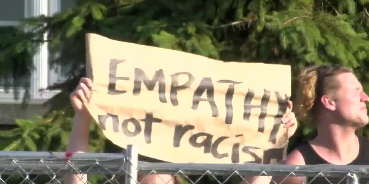 'We're rednecks, not racists:' Bethel protest peaceful Friday despite social media rumors