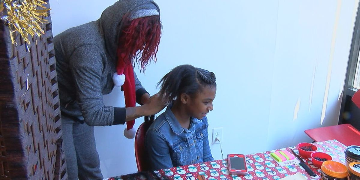 Tri-state non-profit provides free haircuts and hairdos for the holidays