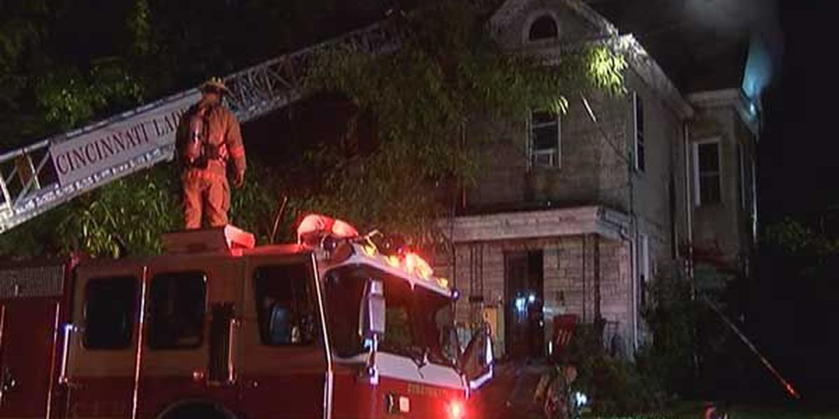 Fire crews battle fire throughout night in Bond Hill