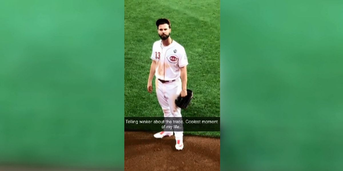 VIDEO: Reds' Jesse Winker finds out about Puig trade from fan yelling from stands