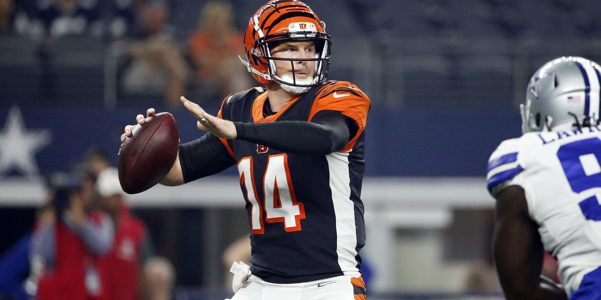 Bengals QB Andy Dalton benched after 0-8 start
