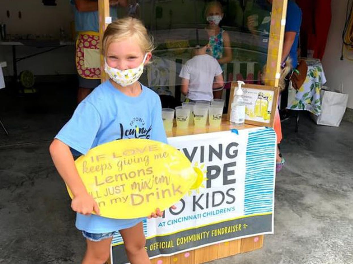 Lemonade stands raise more than $32K for Cincinnati Children's