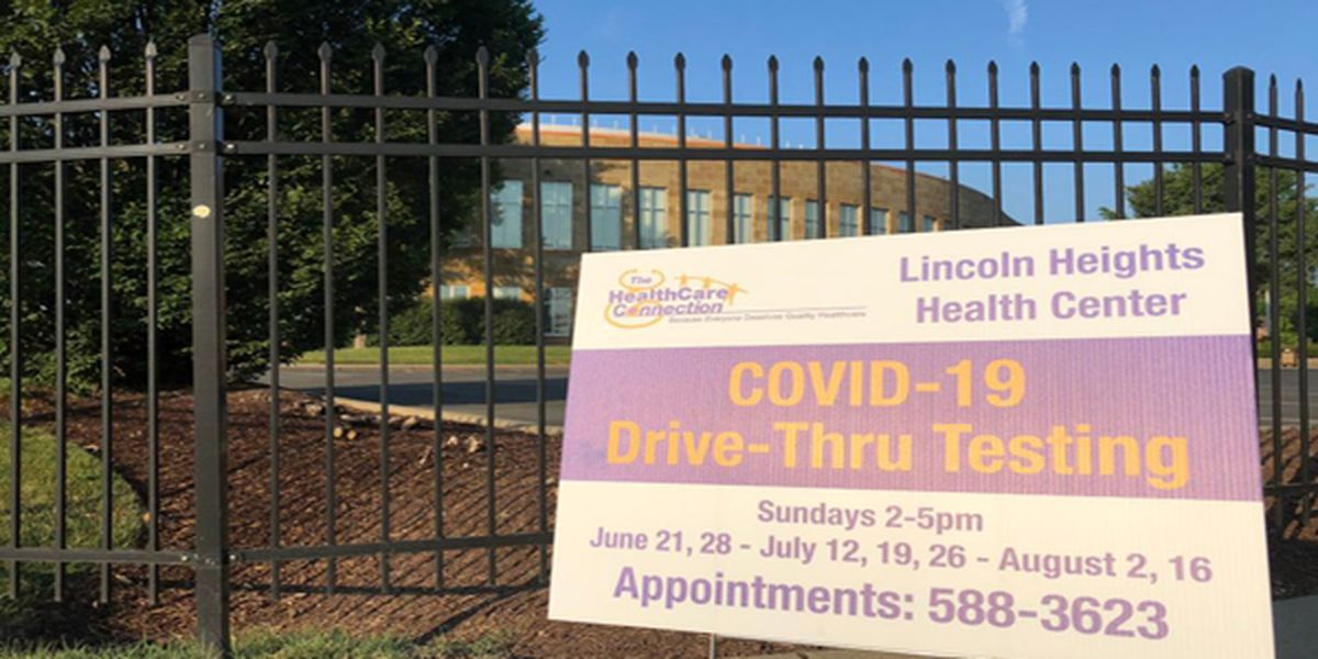 HealthCare Connection, TriHealth to offer drive-through COVID-19 testing at Lincoln Heights Health Center