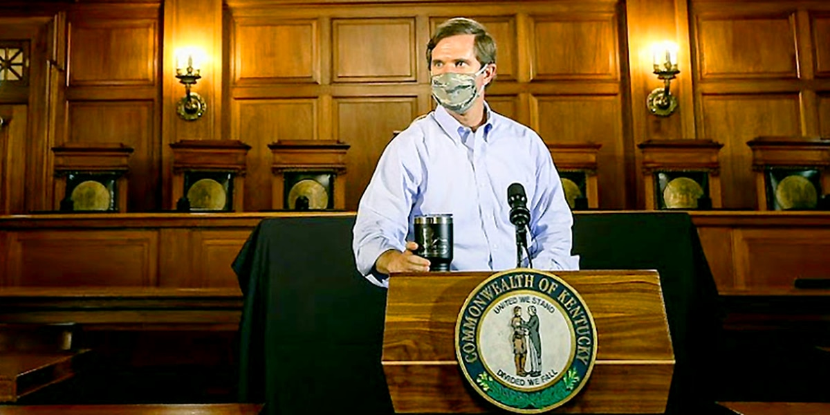 Beshear: 2,398 more virus cases confirmed in the Commonwealth due to Fayette Co. backlog