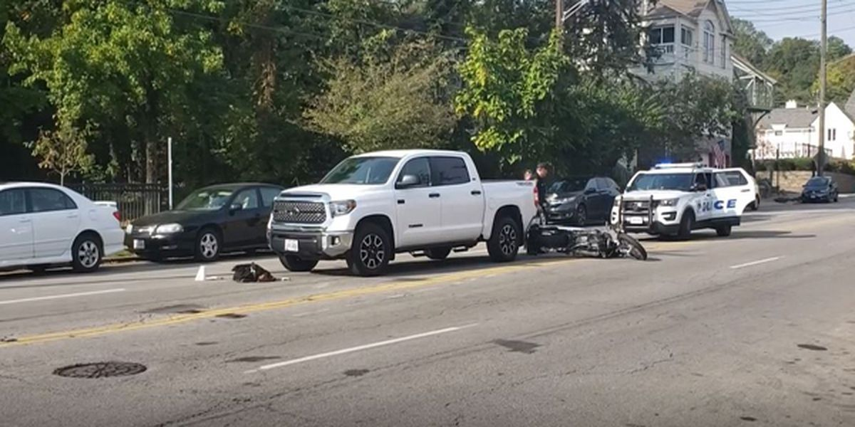 62-year-old motorcyclist in critical condition after Hyde Park crash