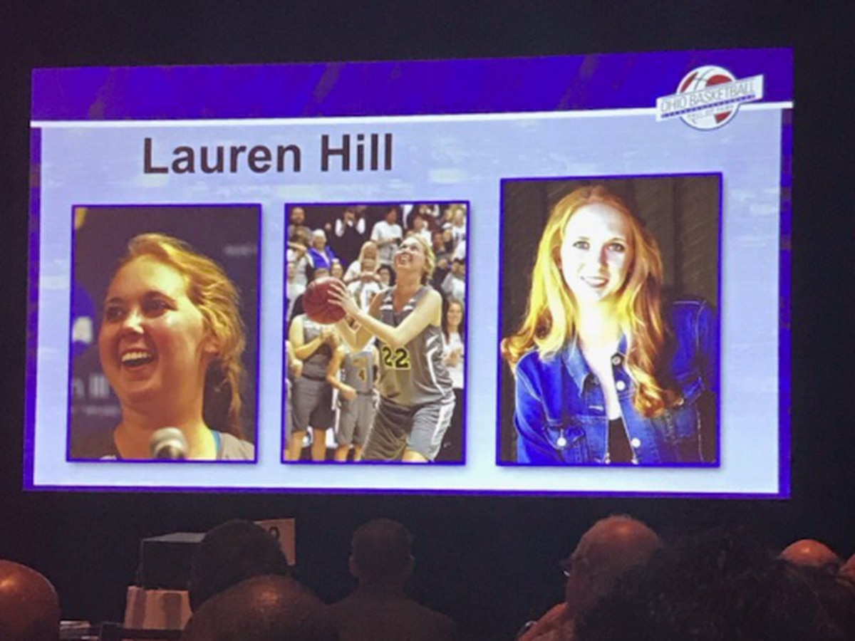 Lauren Hill inducted into the Ohio Basketball Hall of Fame