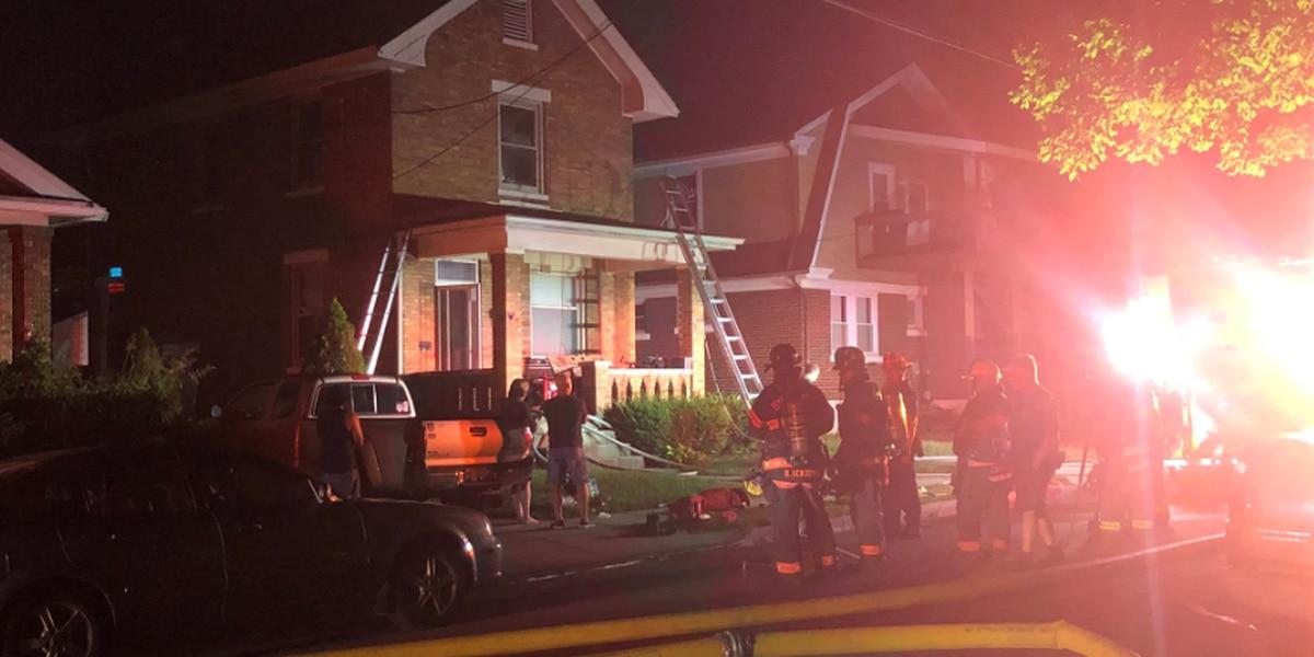 Reading man dies following house fire