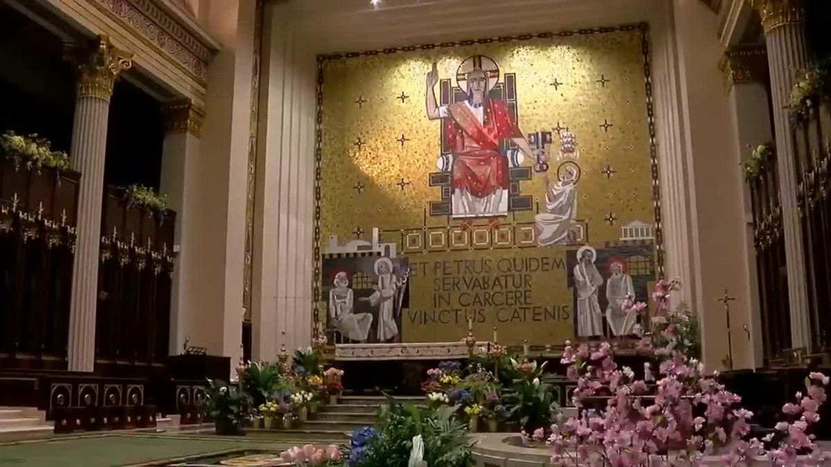 New faces, large crowds as Mass returns to Archdiocese of Cincinnati