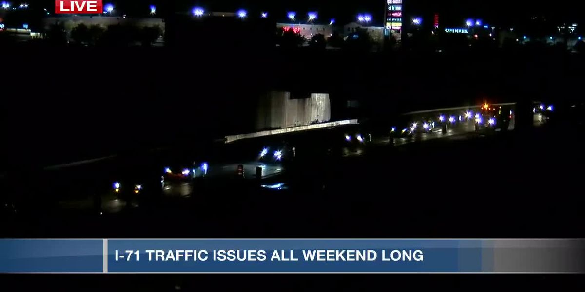Construction to cause I-71 traffic issues all weekend