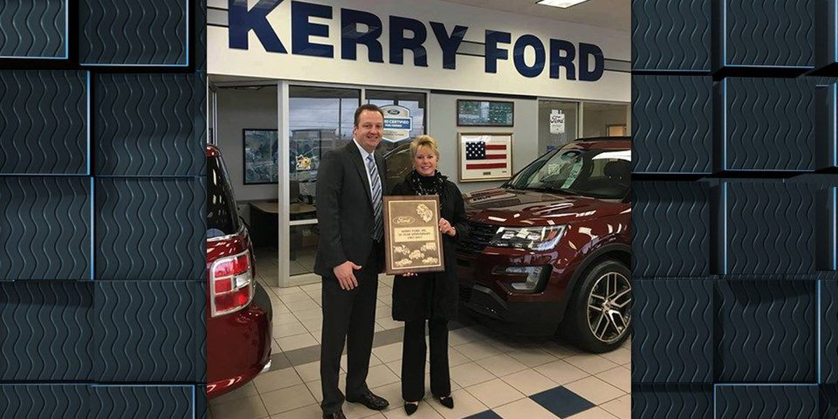 Kerry Ford of Springdale celebrates 50 years with Ford Motors