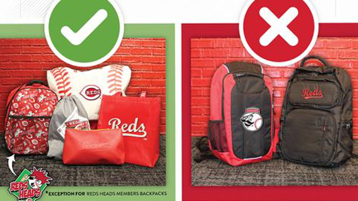 Reds announce new bag policy in effect starting Opening Day
