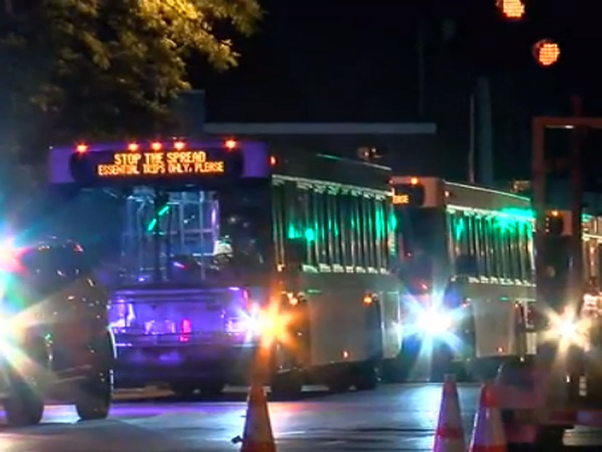 City buses called to transport 100+ protesters arrested in OTR after curfew