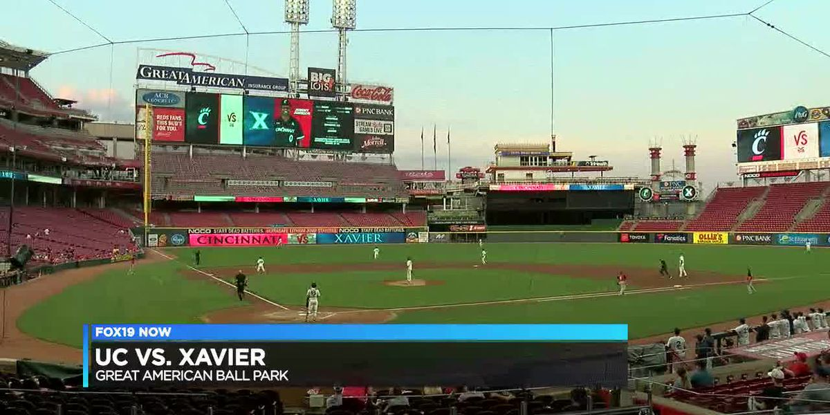 UC and Xavier play game at GABP