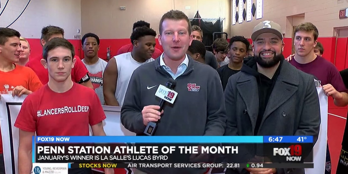 January's Penn Station Athlete of the Month