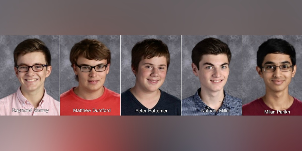Perfect score: 5 students at 1 Cincinnati school score 36 on ACT