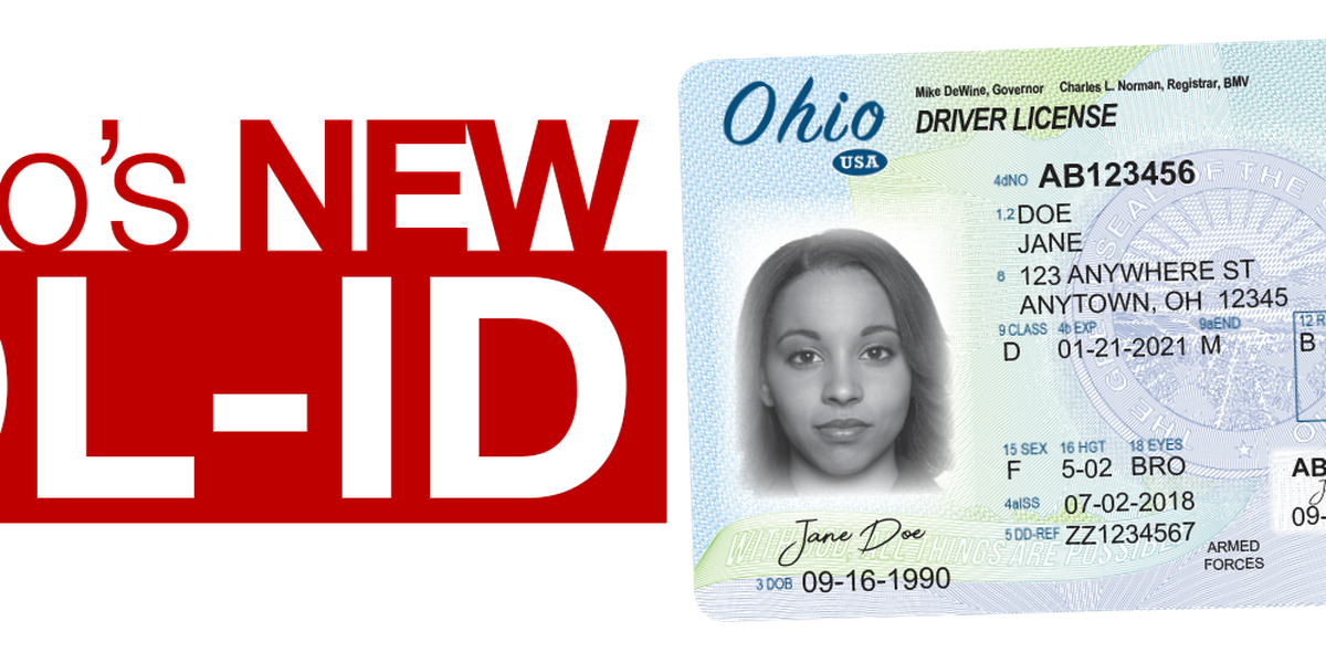 The type of ID you need to fly is changing and you probably don't have the 'REAL ID' for Ohio