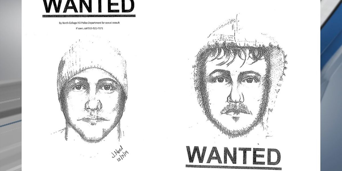 Police release sketches of man wanted in string of North College Hill sexual assaults