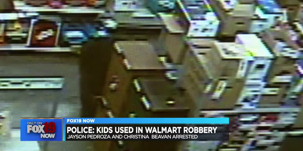 Police: Man's kids helped duo rob Walmart of nearly $9,000 in layaway items