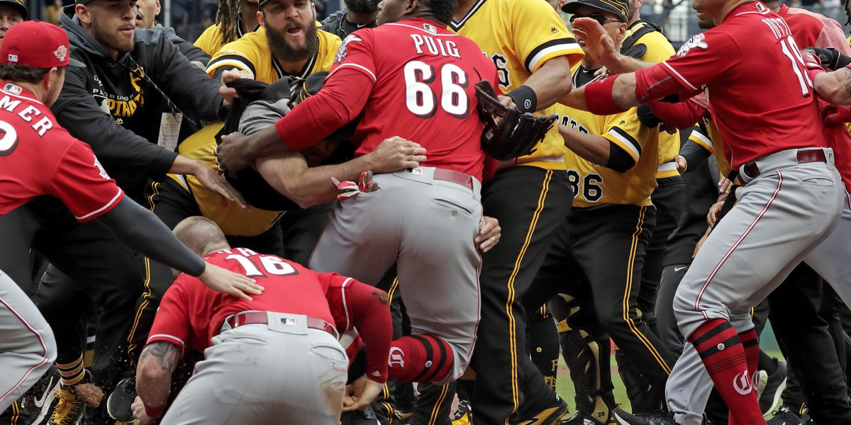 Suspensions announced for Puig, David Bell, Chris Archer following brawl