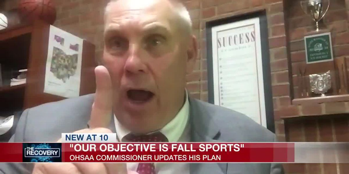 OHSAA commissioner: plan is still for sports in the fall