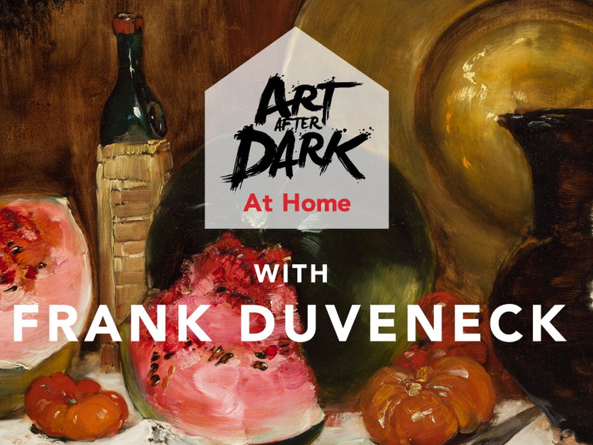 Cincinnati Art Museum's Art After Dark hosting an at-home version this Friday.