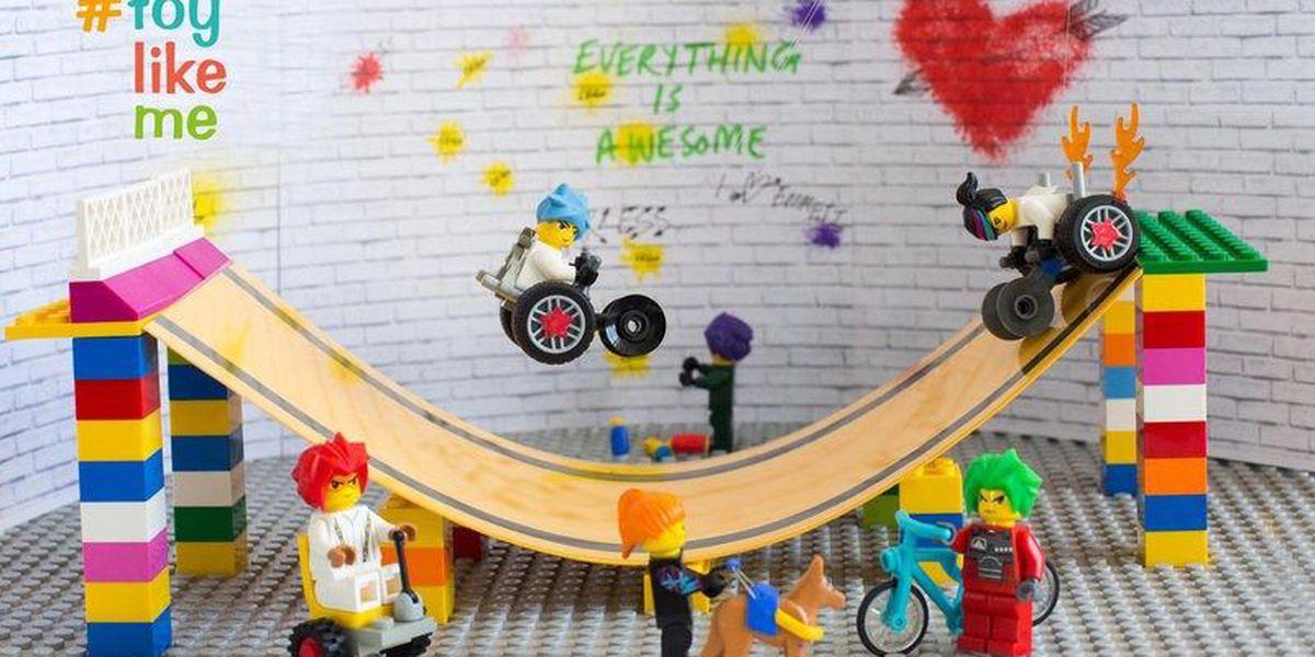 Lego debuts #ToyLikeMe wheelchair minifigure