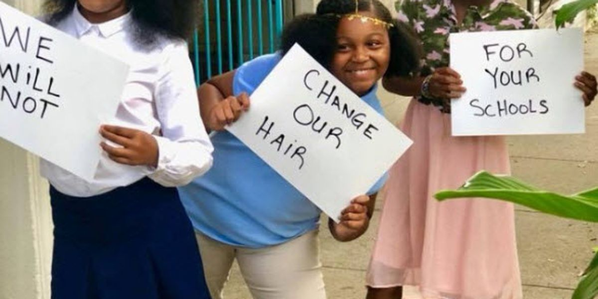 Bullied girls say to 'embrace your natural' in new online video