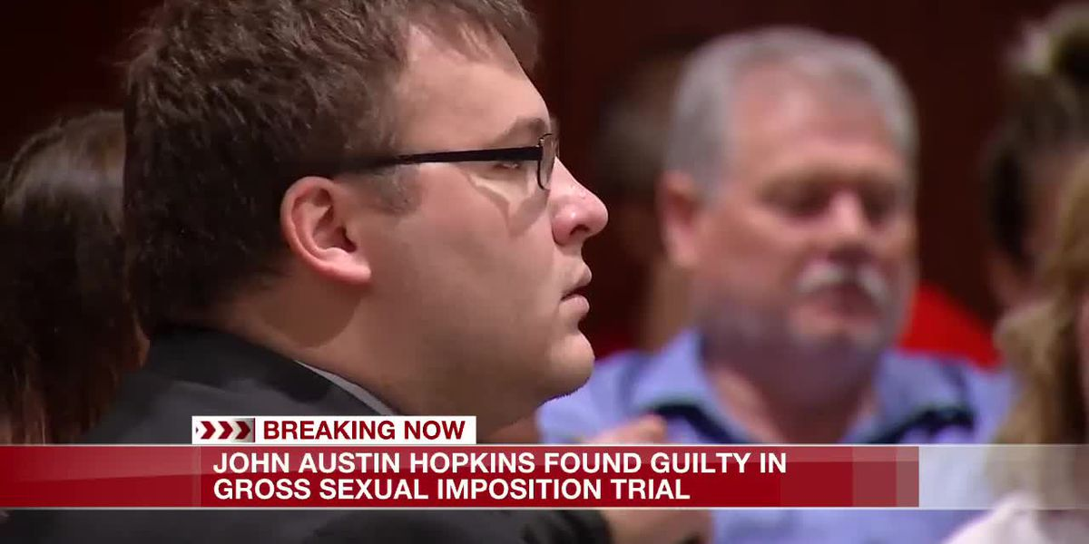 John Austin Hopkins found guilty on 34 counts of gross sexual imposition