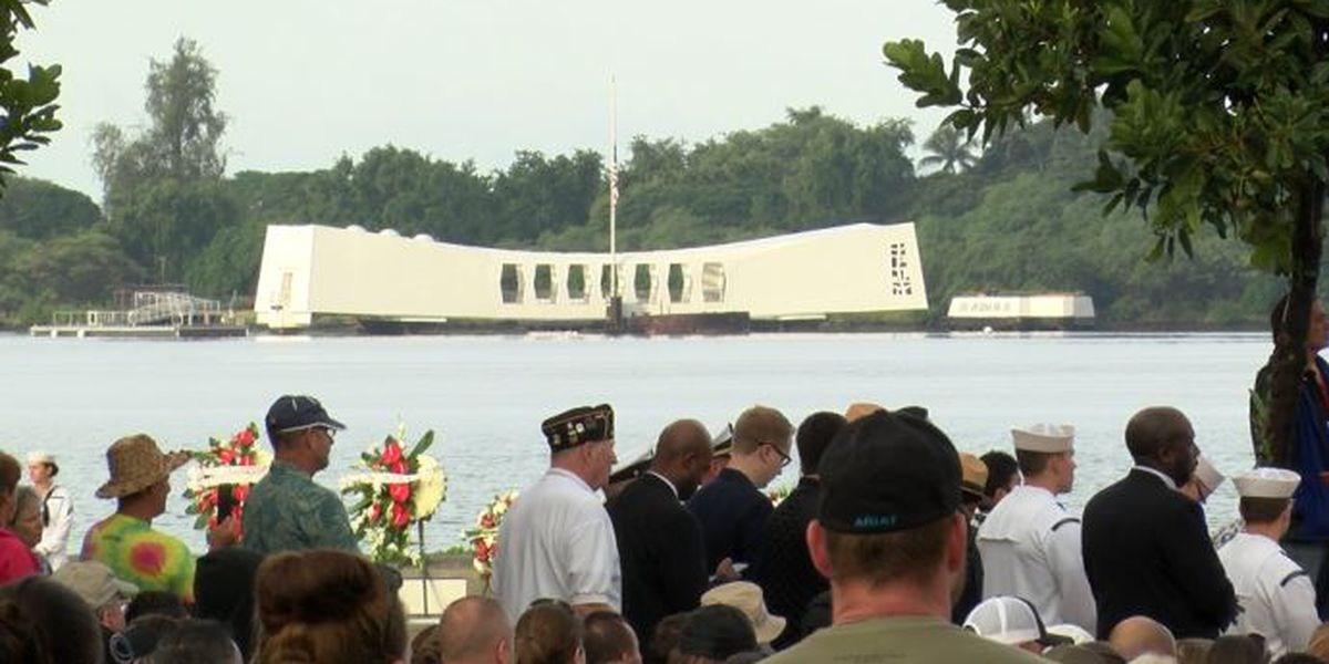 In marking anniversary of Pearl Harbor attack, a pledge to survivors: 'We'll continue to tell your story'