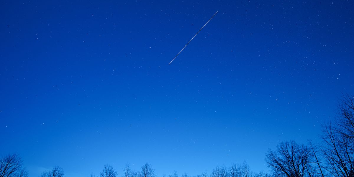 Shooting stars will light up the sky over the next few days