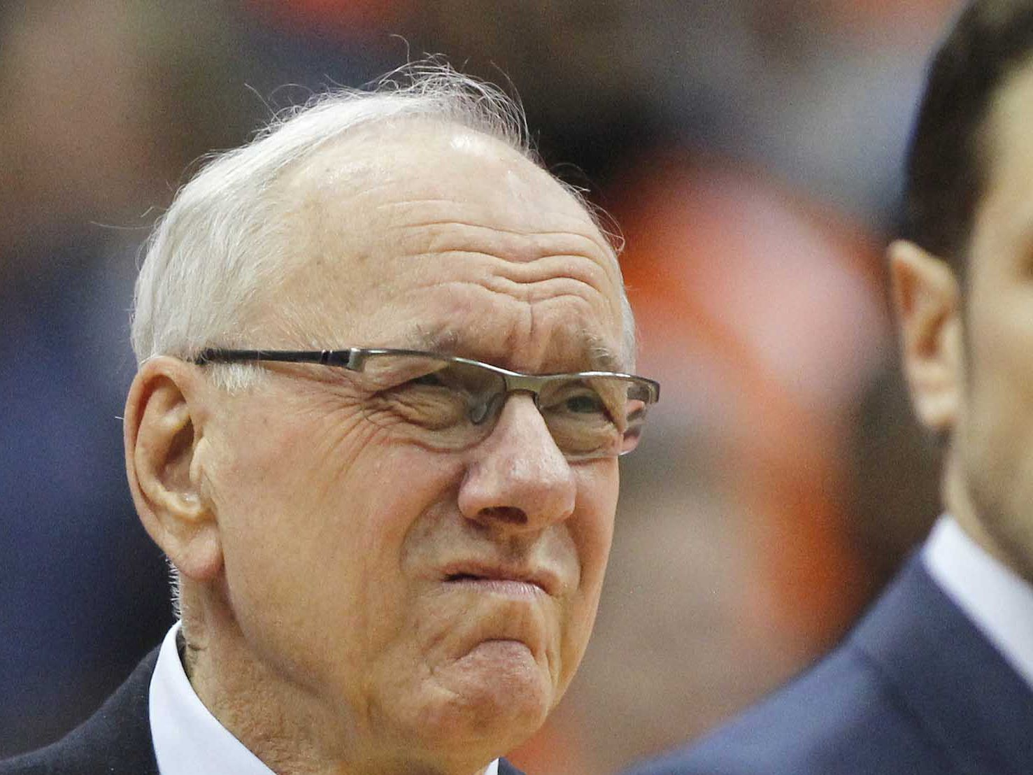 Syracuse coach Jim Boeheim gets loud ovation for Duke game