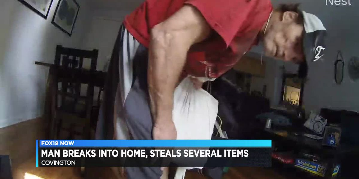 Man breaks into Covington home, steals several items