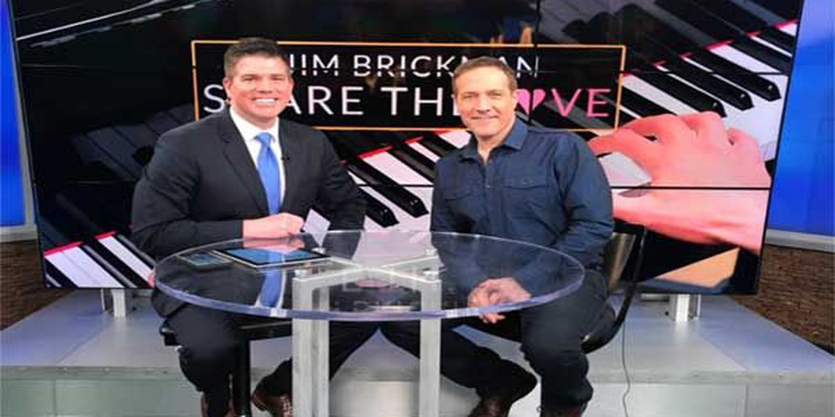 WATCH: Jim Brickman drops by FOX19 NOW studio to talk about Valentine's Day performance at Aronoff