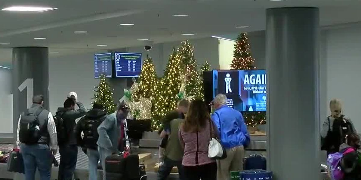 Passengers filter through CVG ahead of Thanksgiving holiday