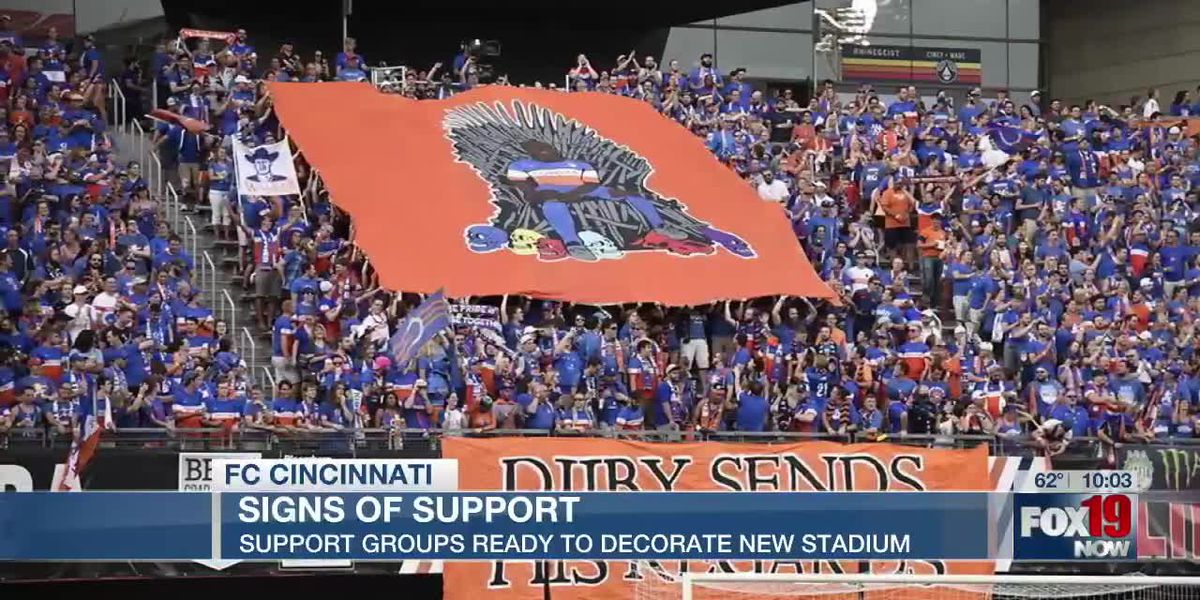 Supporter groups ready to decorate FC Cincinnati's new TQL Stadium