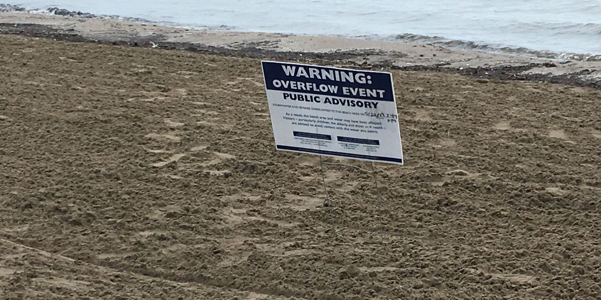 142,600 gallons of sewage, stormwater overflows into Lake Erie due to heavy rainfall