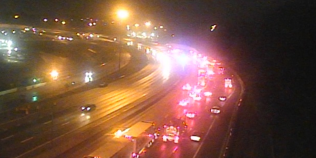 NB I-75 reopens after crash, fuel spill